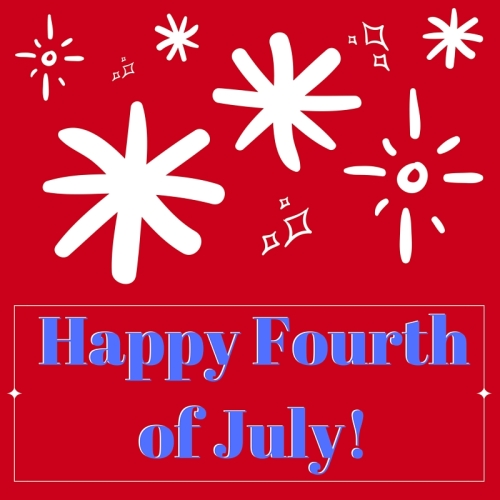 Happy Fourthof July!